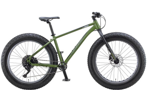 KHS | 4 Season 500 | Fat Tire Mountain Bike | Matte Army Green