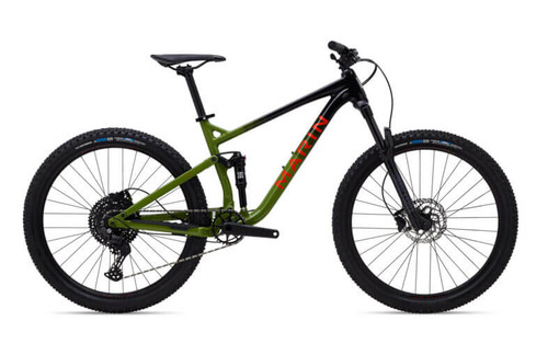 Marin | Rift Zone 1 27.5 | Formerly Hawk Hill | 2021 | Gloss Black/Green/Orange