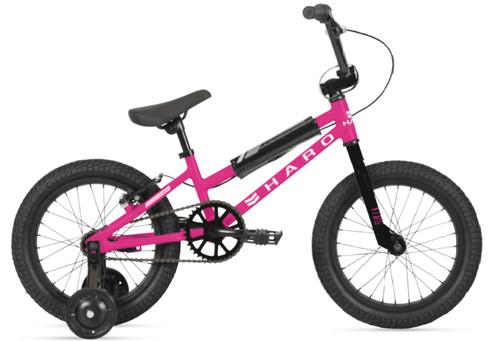 Haro   Shredder 16   Girl's Bike   2021   Matte Magenta
