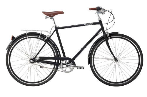 Pure Cycles | Pure City | Classic Bike | Urban City Bike | Bourbon - Black