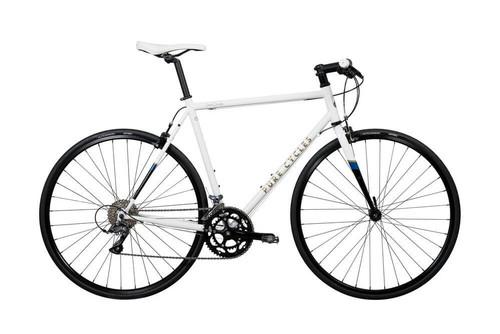 Pure Cycles | Flat Bar Road Bike | Ray | White