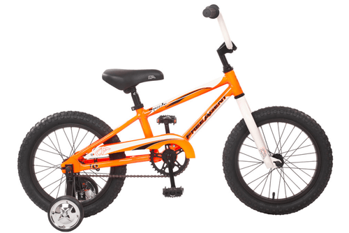 Free Agent | Speedy | Kids BMX Bike | Bright Orange