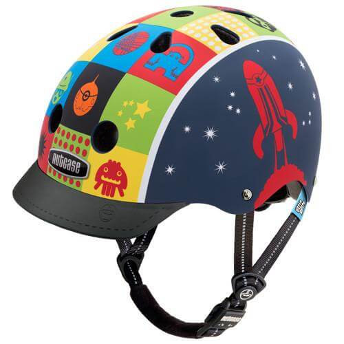 Nutcase Helmets | Little Nutty | Space Cadet | Kids Helmet | 2019