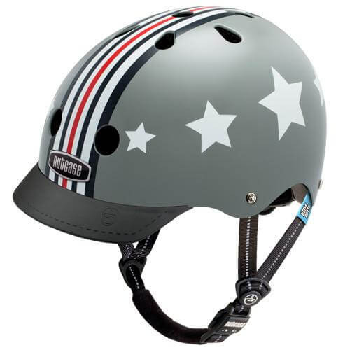 Nutcase Helmets | Little Nutty | Silver Fly | Kids Helmet | 2019 | 1