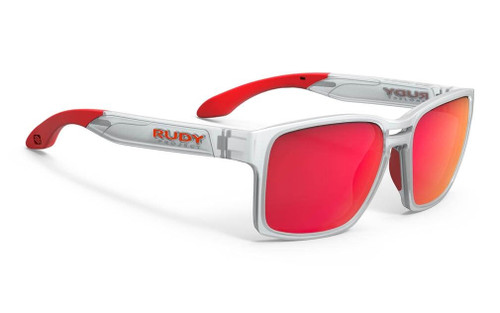 Rudy Project | Spinair 57 | Protective Gear |  2019 | Ice Matte | Polar 3FX HDR Multilaser Red
