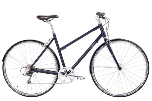 Linus | Pronto Womens | Urban City Bike | Matte Indigo