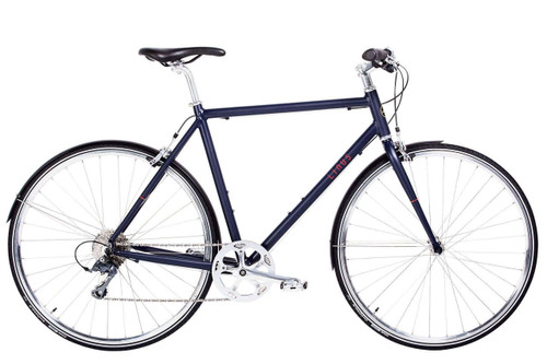 Linus | Pronto Mens | Urban City Road Bike | Matte Indigo