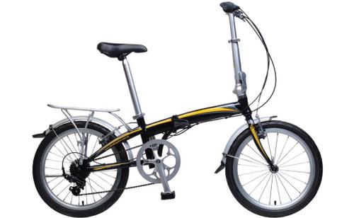 KHS | F20A-H7 | Folding Bike | Black