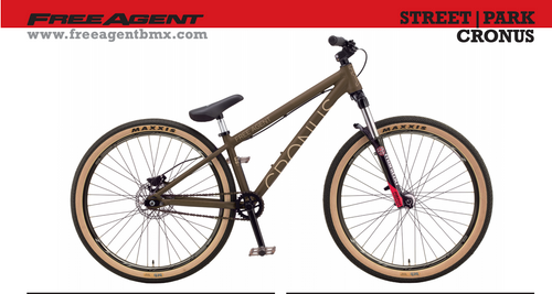 Free Agent | Cronus | BMX Bike 26"