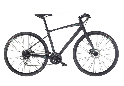 Bianchi | C-Sport 1 | Urban City Bike | Black Matte
