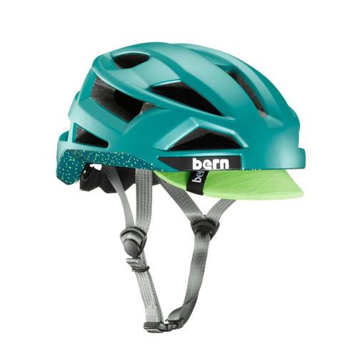 Bern | FL-1 Pave | Adult Helmet | 2019 | Green - Matte Fern Green