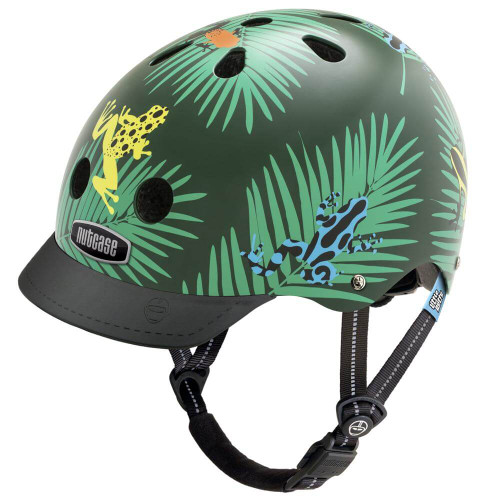 Nutcase Helmets | Little Nutty | Dart Frogs | Kids Helmet | 2019