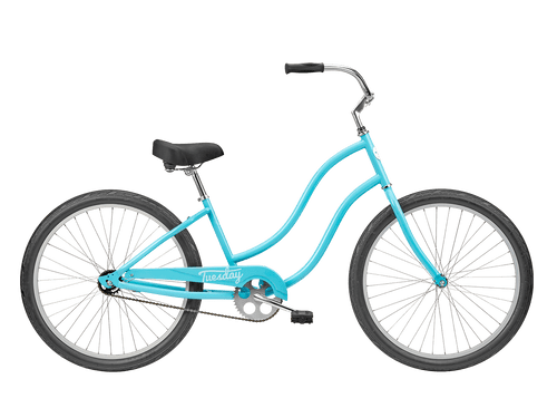 Tuesday | June 1 LS | Womens Cruiser | Surf Blue