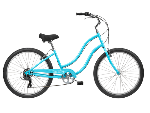 Tuesday | June 7 LS | Womens Cruiser | Surf Blue | 24 Inches