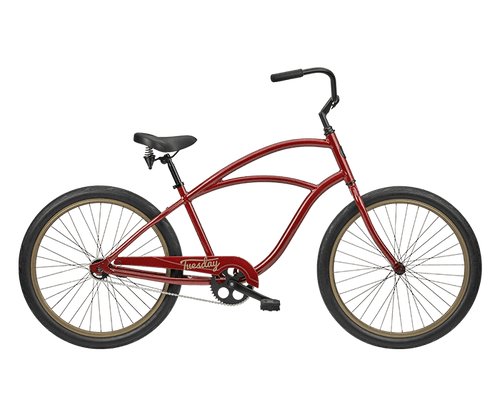 Tuesday | August 1 | Mens Cruiser | 2019 | Dark Red