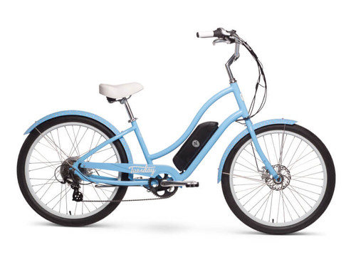 Tuesday | August Live! LS (E-bike) | Womens Electric Cruiser Bike | 2019 | Blue Periwinkle
