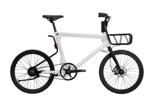Pure Cycles | Volta | Electric Bike | White | No Rack
