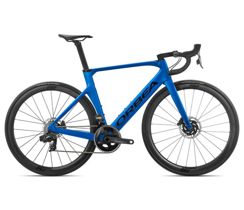 Orbea | Orca Aero M21eTEAM | 2020 | Sensation Blue (Matte) / Black (Gloss)