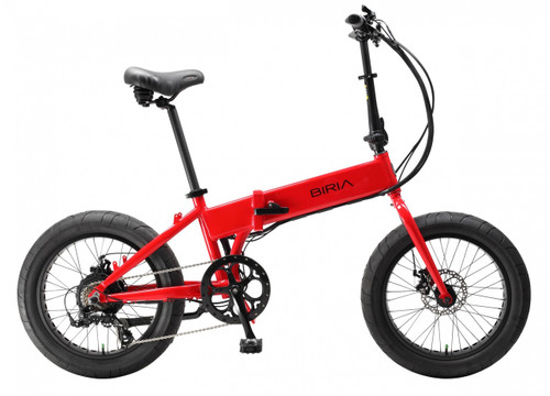 Biria Electric | Folding Bike | Red