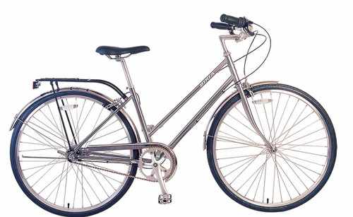 Biria | Citi Classic ST i3 | Urban City Bike | Nickel Silver | Sale