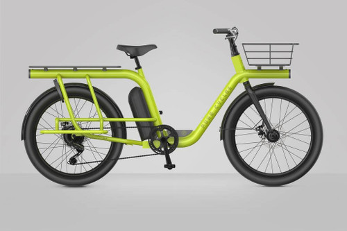 Pure Cycles | Capacita | Electric Cargo Bike | Yellow