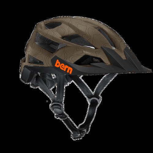 Bern | FL-1 XC | Adult Helmet | 2019 | Dark Khaki - Matte Earth Topo