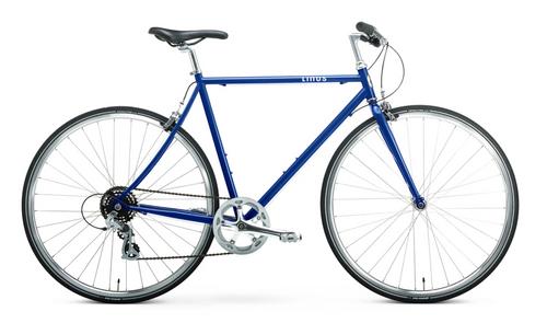 Linus | Altore 7 | Urban City Bike | Blue