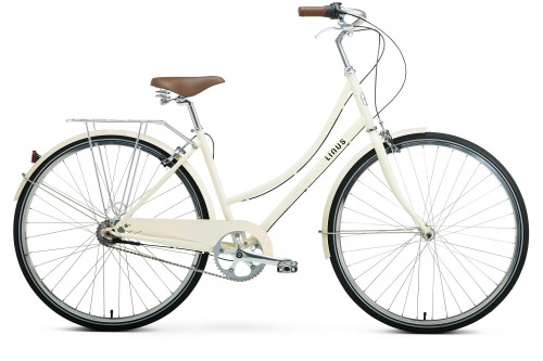 Linus | Dutchi 7i | Ladies Urban City Bike | Cream