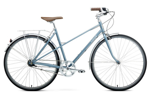 Linus | Mixte 7i | Urban city Bike | Matte Arctic Blue