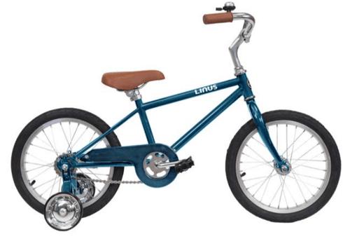 "Linus   Lil Roadster 16""   Kids Bike   Ocean Blue"