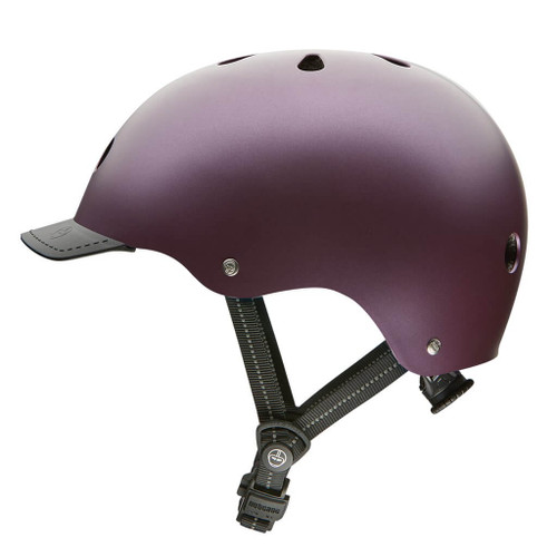 Nutcase Helmets | Passion Purple Satin metallic | Adult Street Helmet | 2019