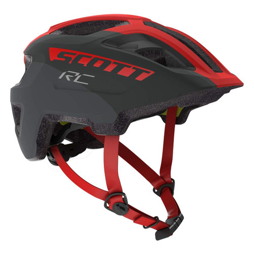 Scott | Spunto Junior Plus Helmet | Kids Helmet | 2020 | Grey/Red RC