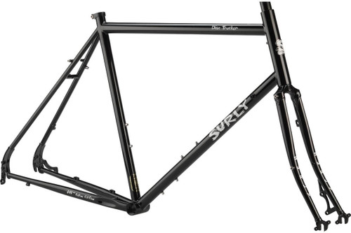 Surly | Disc Trucker Frameset | 26 | 2020 | Hi-Viz Black