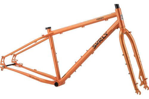 Surly | Pugsley Frameset | 2020 | Candied Yam Orange