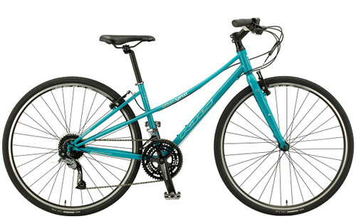 KHS | Urban Xpress Ladies | Urban City Bike | Aqua