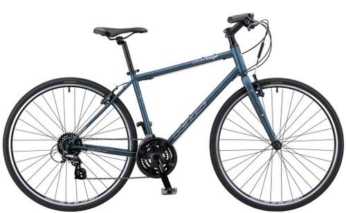 KHS | Urban Xcape | Urban City Bike | Matte Gray Blue
