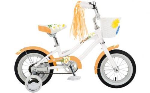"Manhattan Cruisers   Lil' Daisy 12""   Kids Bike   Pearl w/Creamsicle"