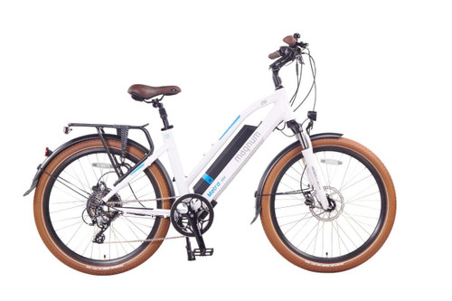 Magnum Electric | Metro | Electric City Bike | 2020 | White