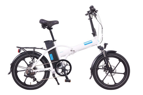 Magnum Electric | Premium High Step | Electric Folding Bike | 2020 | White