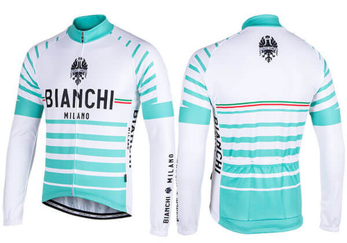 Bianchi Milano by Nalini | Appiano Long Sleeve Jersey | Men's
