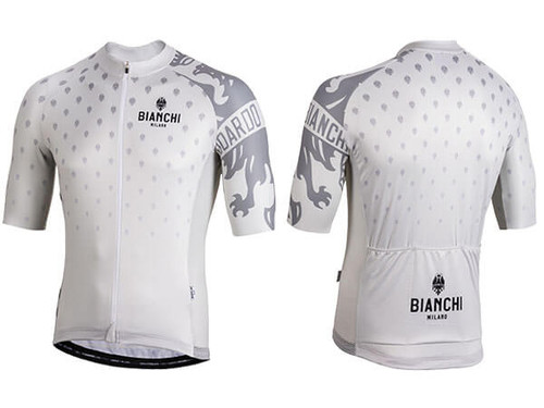 Bianchi Milano by Nalini | Savignano Short Sleeve Jersey | Men's | 2019 | White