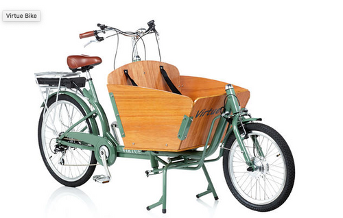 Virtue Electric Gondoliere+ Cargo Box Bike