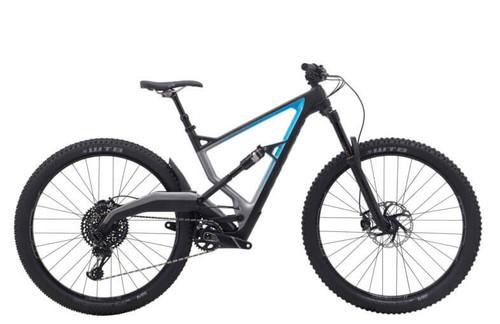 Marin | Wolf Ridge 8 | Mountain Bike | 2020 | Satin Carbon/Gloss Cyan-Charcoal Fade