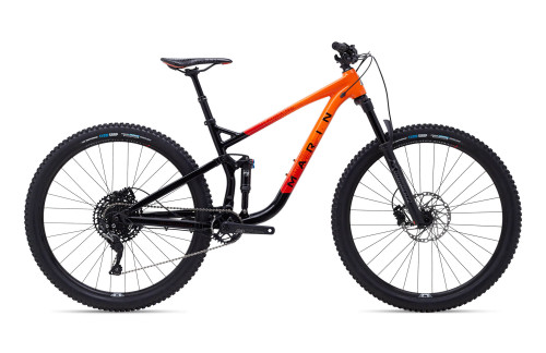 Marin | Rift Zone 1 | Mountain Bike | 2020 | Gloss Black/Rorange/Red