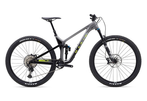 Marin | Rift Zone Carbon 2 | Mountain Bike | 2020 | Gloss Carbon/Dark Charcoal/ Hi-Vis Yellow