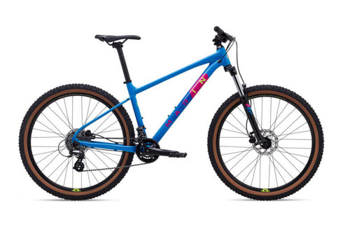 Marin | Bobcat Trail 3 | Mountain Bike | 2020 | Gloss Bright Blue/Dark Blue/Yellow/Magenta
