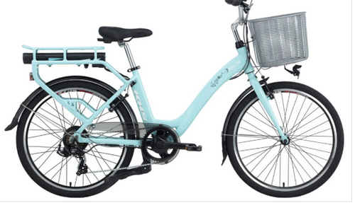 KHS Electric | Easy 24 | Electric Bike For Ladies | Blue