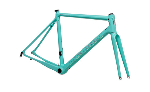 Bianchi | Specialissima Frame Kit | Non Disc | Celeste/Mermaid Scale | 2021