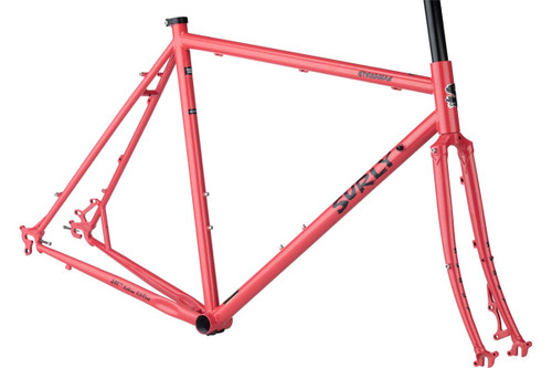 Surly | Straggler Frameset | 650b | 2020 | Salmon Candy Red