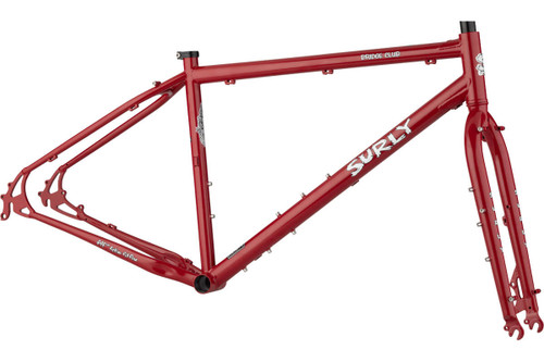 Surly | Bridge Club Frameset | Grandma's Lipstick
